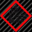 attention, bomb, caution, danger, explosion, hazard, warning