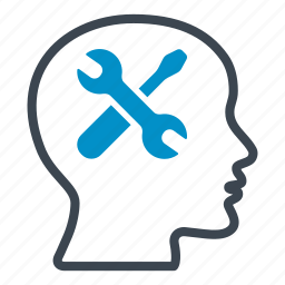 application, head, preferences, screwdriver, tools, working, wrench icon