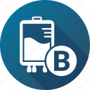 bag, blood, infusion, transfusion icon