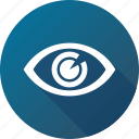 eye, iris, opthalmology, view icon