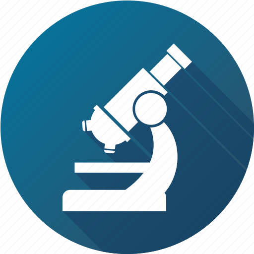 exam, lab, laboratory, microscope, research, test icon