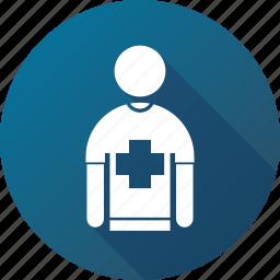aid, crew, emergency, first, hospital, nurse, paramedic icon