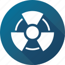 danger, hazard, radiation, radioactive, risk icon