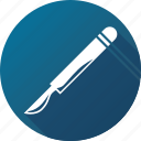 knife, medical, operation, scalpel, surgery icon