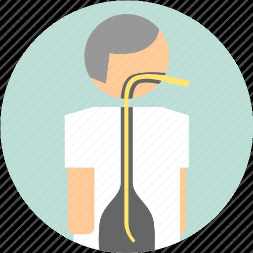 diagnostic, digestive, endoscopy icon