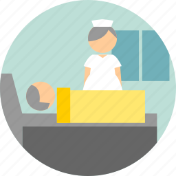 hospitalized, inpatient, wards icon