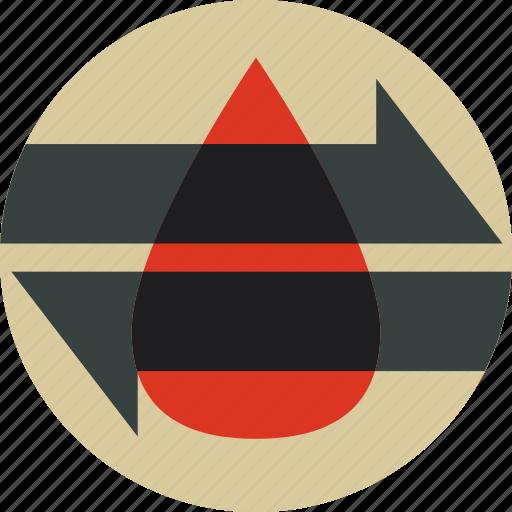 blood, hemodialysis, lab, transfusion icon