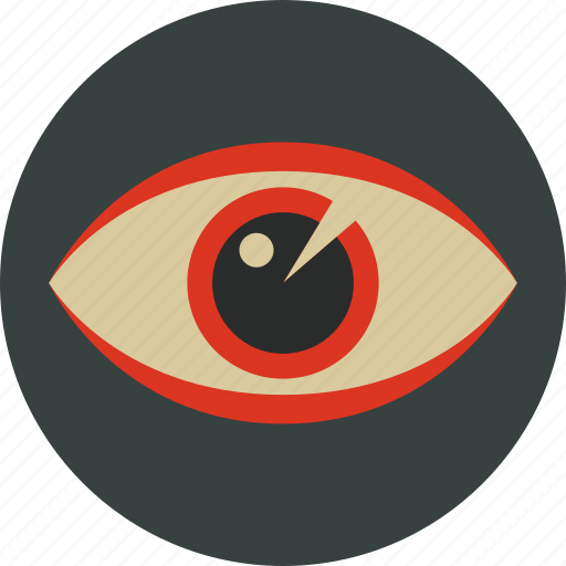 eye, opthalmology, optic, see, view, vision icon