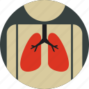 breath, bronchus, cancer, lungs, pulmonology icon