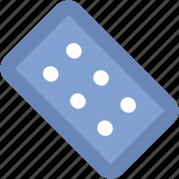 capsule, medical drugs, medications, medicine strip, medicines, pills, tablets icon