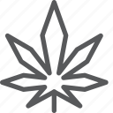 cannabis, drug, health, leaf, marijuana, plant, smoke icon