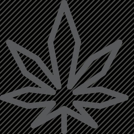 cannabis, drug, health, leaf, marijuana, plant, smoke icon