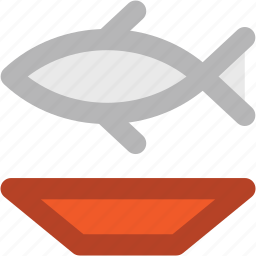 diet, fish, food, healthy food, nutrition, plate, seafood icon