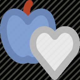 apple, healthcare, healthy concept, healthy diet, healthy food, healthy nutrition, heart icon