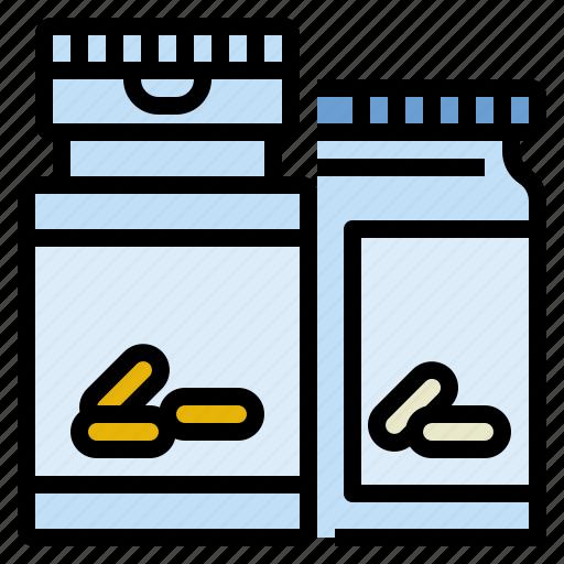 dietary, drug, health, pill, supplyments, vitamins icon
