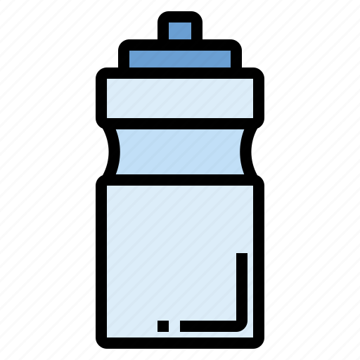 bottle, dehydrated, health, running, sport, water icon