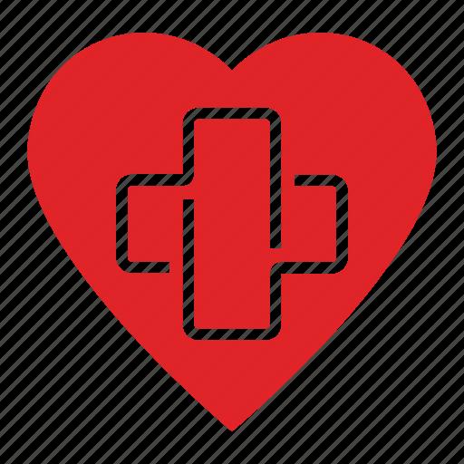 aid, doctor, health, heart, hospital, medic, medicine icon
