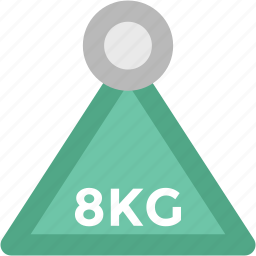 bodybuilding, dumbbell, fitness, kettlebell, kg, weight, weightlifting icon