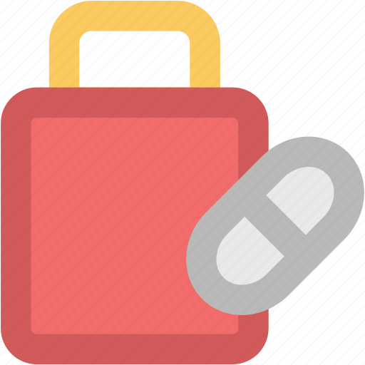 capsules, medical drugs, medications, medicine, medicine jar, tablets icon