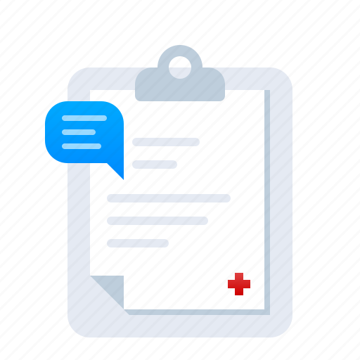 care, doctor, document, emergency, health, hospital, medical, note, paper, recap icon