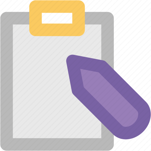 jotter, manual, notebook, notepad, paper, pencil, steno pad icon