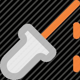 chemical dropper, color picker, dropper, laboratory tool, pipet, pipette, pipettor icon
