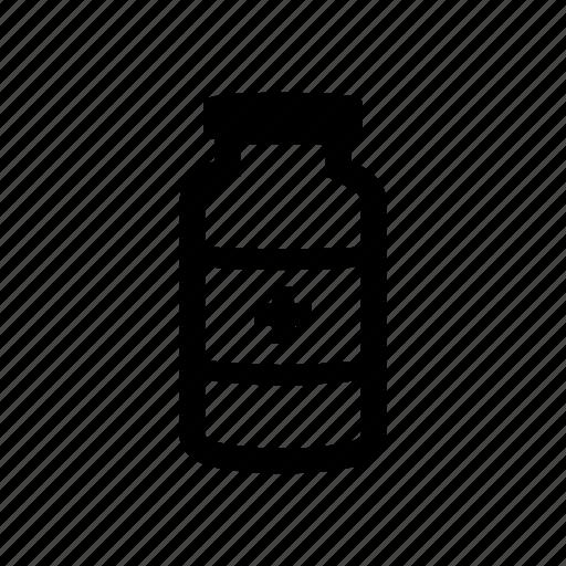 aid, health, jar, medicine, pills icon