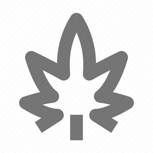 cannabis, leaf, marijuana, medicine, nature icon