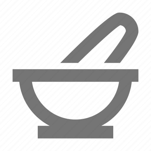 mortar, pestle icon