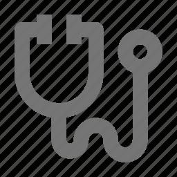 healthcare, stethoscope icon