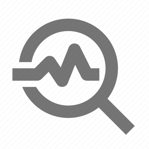 healthcare, hospital, magnify, medical, pulse, rate, search, view icon
