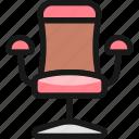 hair, dress, chair