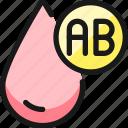blood, drop, type, ab
