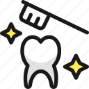 dentistry, tooth, brush