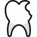tooth, chipped, dentistry