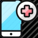 medical, smartphone, app