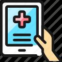 medical, app, tablet
