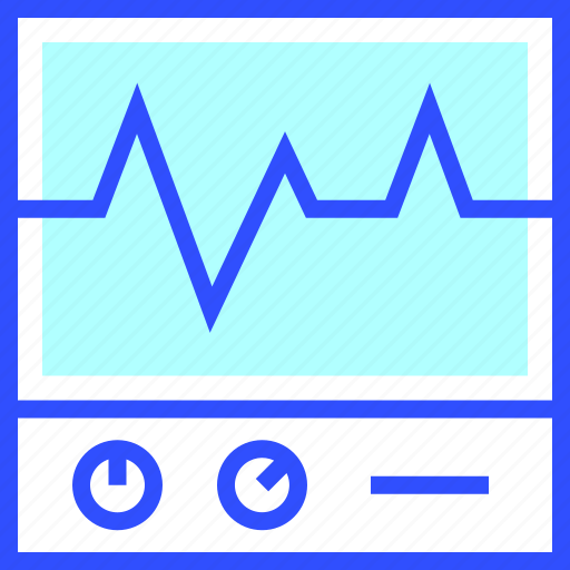 Ecg, game, health, fit, fitness icon