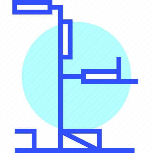 Fit, power, game, health, fitness, tower icon