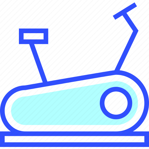 bike, fit, fitness, game, health, stationary icon