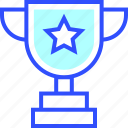 trophy, game, health, fit, fitness