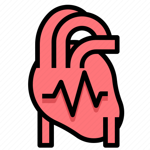 Heart, medical, monitor, pulse, sign, vital icon - Download on Iconfinder