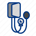 blood, blood pressure, check up, control, health, measure icon