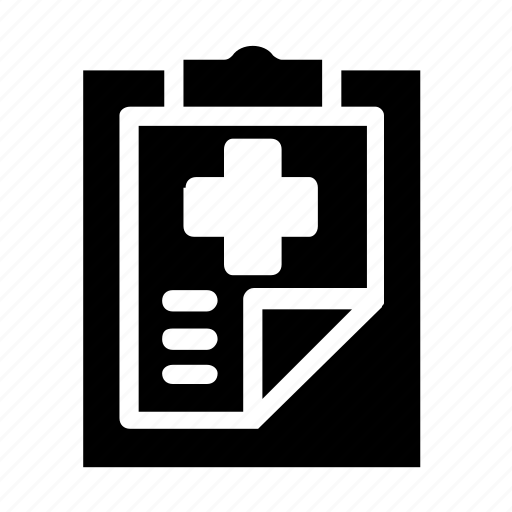 chart, clipboard, healthcare icon