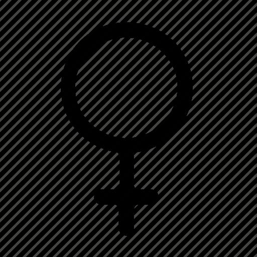 female, gender icon