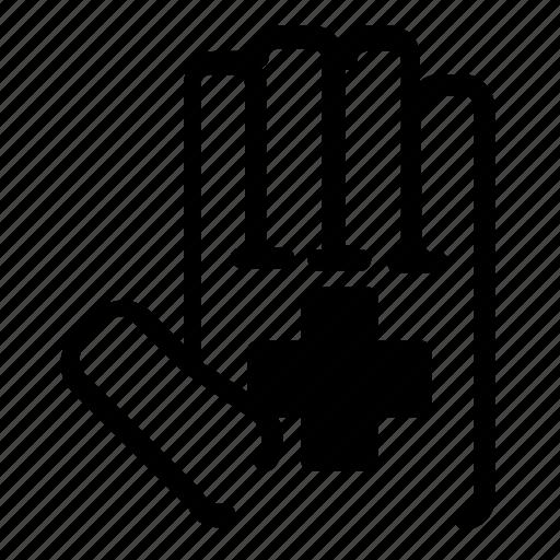 hand, healthcare icon