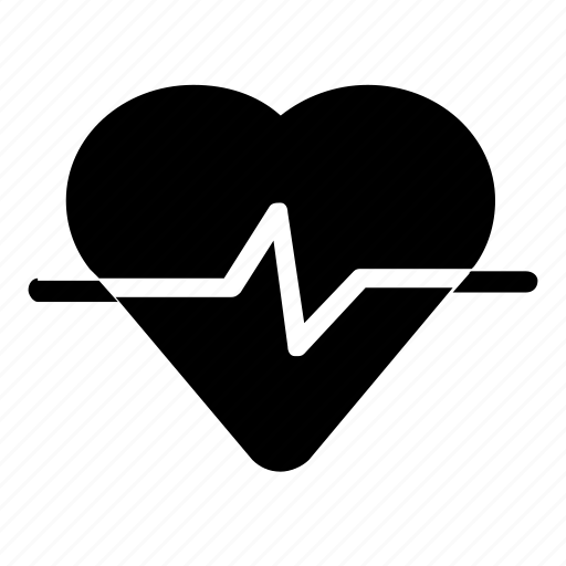 health, heart, heartrate icon