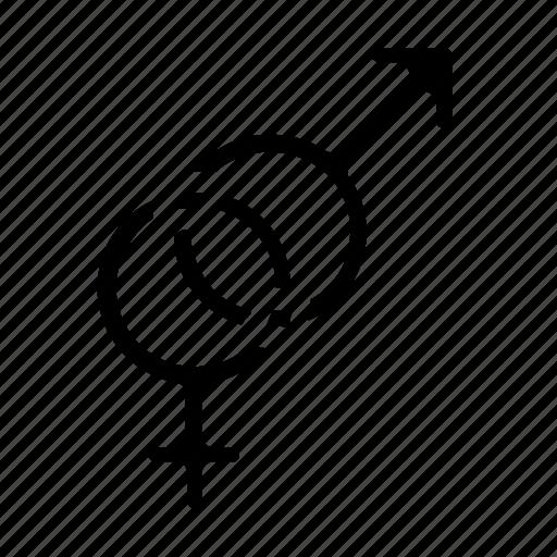 female, intercourse, male, reproduction icon