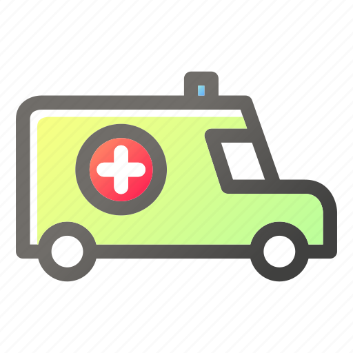 Ambulance, emergency, health, healthcare, medical, vehicle icon - Download on Iconfinder