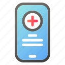 app, health, healthcare, medical, medicine, mobile icon